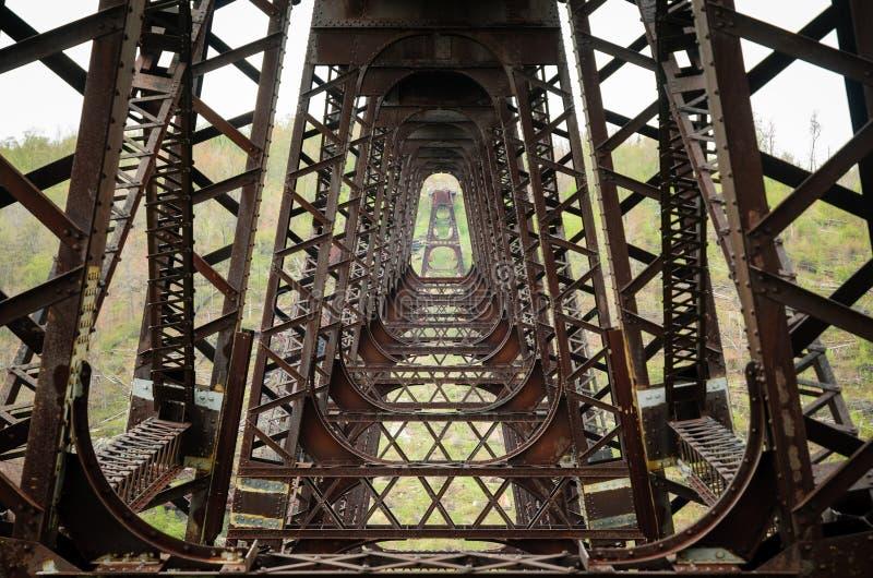 Parque de estado del puente de Kinzua fotos de archivo libres de regalías