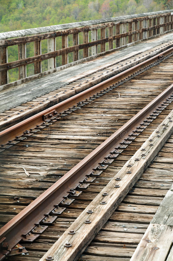 Parque de estado del puente de Kinzua foto de archivo