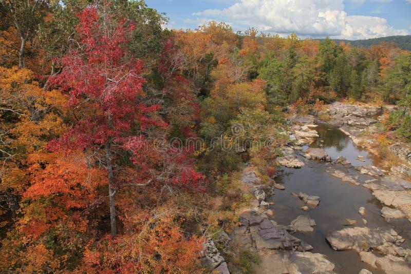 Parque de estado de mármol de la cala en Missouri rural imagen de archivo libre de regalías