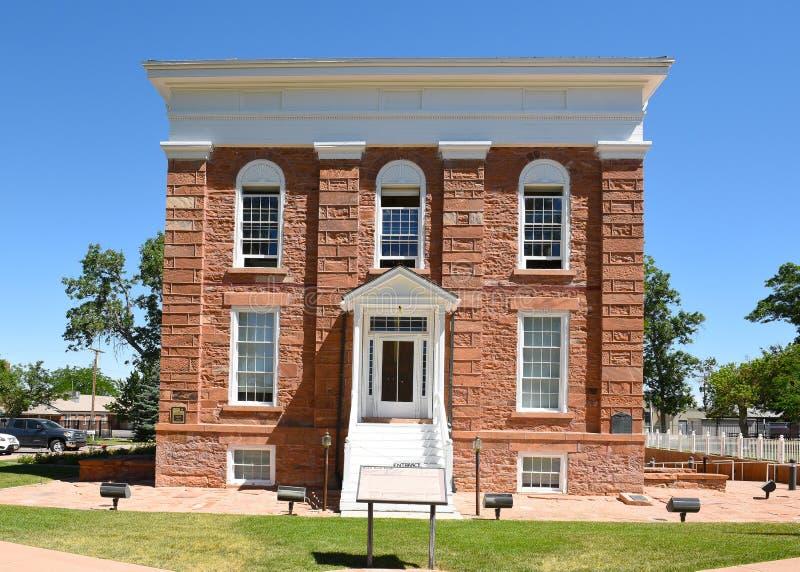 Parque de estado territorial del Statehouse imagenes de archivo