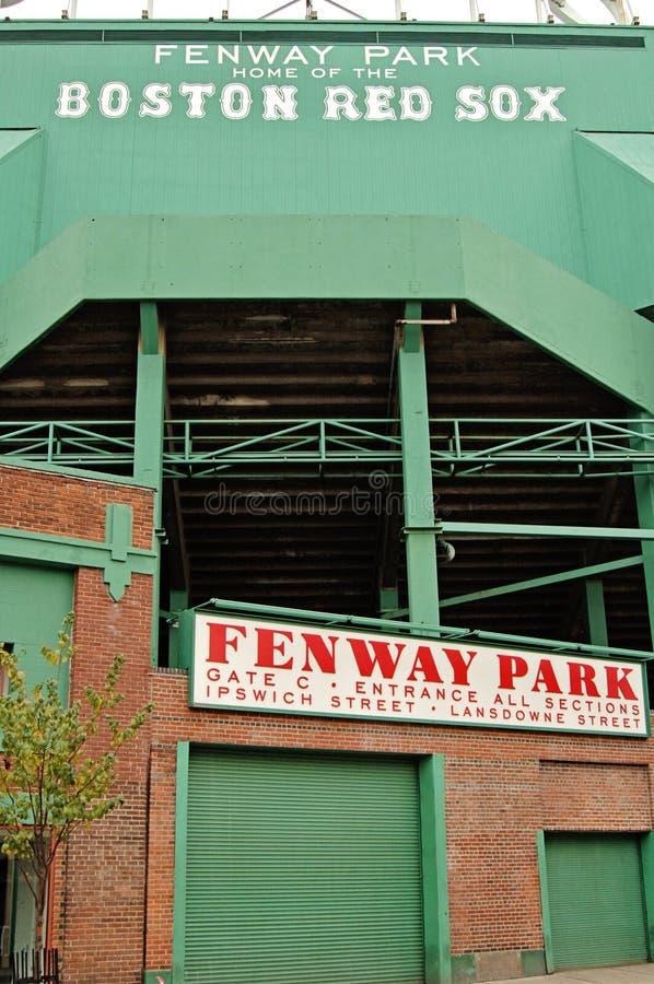 Parque de Fenway imagens de stock royalty free