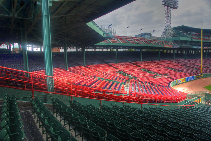 Parque de Fenway em Boston, miliampère imagens de stock royalty free