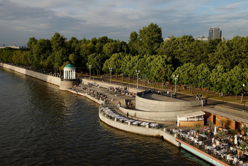 Parque de Gorky imagens de stock royalty free