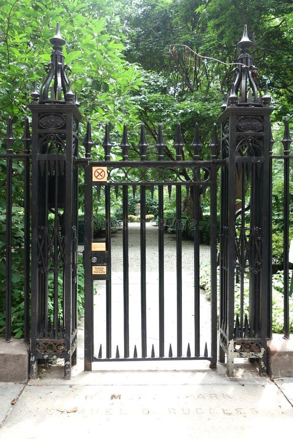 Parque de Gramercy foto de archivo