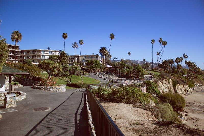 Parque de Heisler no Laguna Beach Califórnia foto de stock royalty free