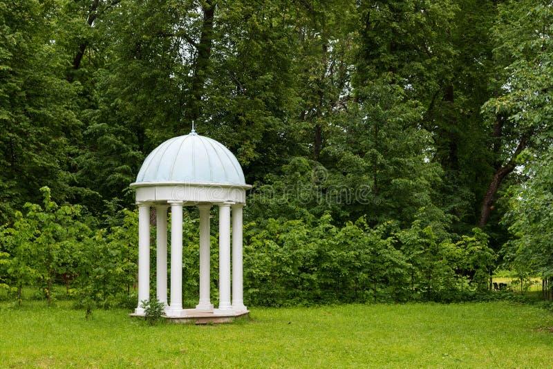Parque de Hmelita Museo-estado de A S Griboedov en Vyazma, región Rusia de Smolensk imagenes de archivo