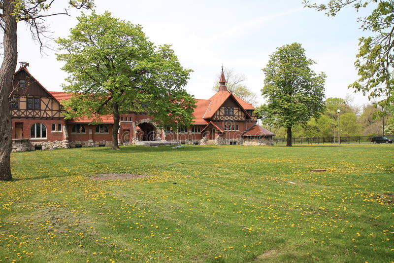 Parque de Humbodt en Chicago foto de archivo libre de regalías