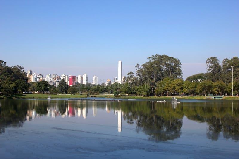 Parque de Ibirapuera imágenes de archivo libres de regalías