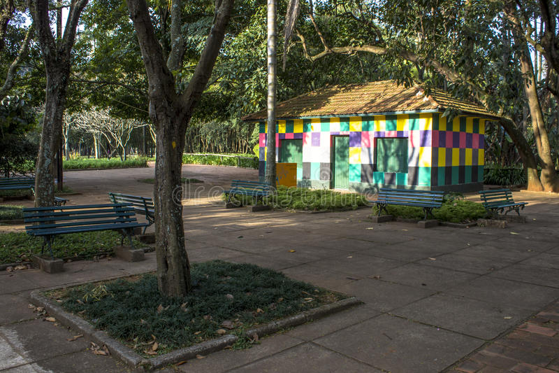 Parque de Ibirapuera imagens de stock royalty free