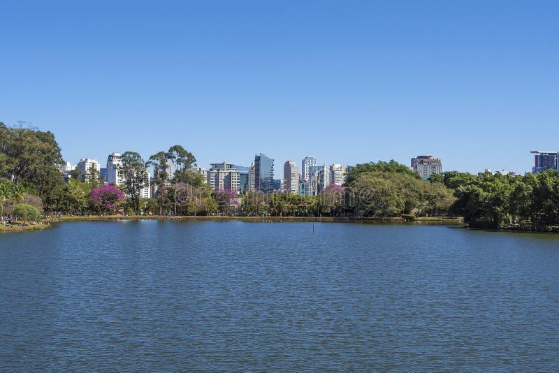 Parque de Ibirapuera en Sao Paulo, el Brasil fotos de archivo libres de regalías