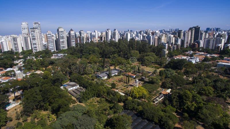 Parque de Ibirapuera, Sao Paulo fotos de stock royalty free