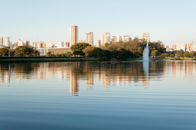Parque de Ibirapuera - Sao Paulo fotos de stock