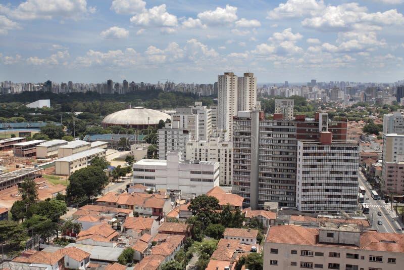 Parque de Ibirapuera - Sao Paulo - el Brasil fotografía de archivo libre de regalías