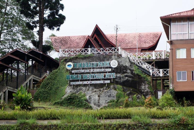Parque de Kinabalu en Ranau, Sabah foto de archivo libre de regalías