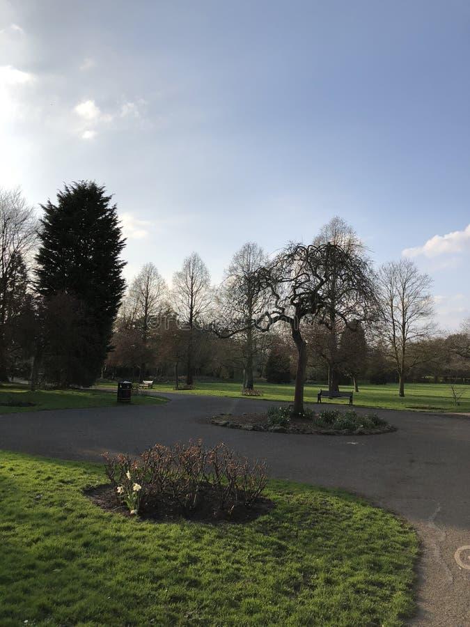 Parque de Knighton imagens de stock