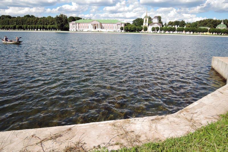 Parque de Kuskovo em Moscou imagem de stock royalty free