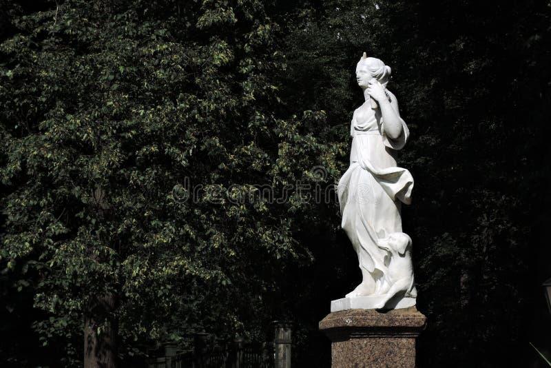 Parque de Kuskovo em Moscou foto de stock