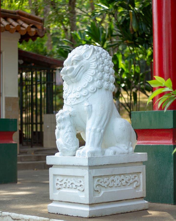 Parque de la amistad china panameña fotos de archivo