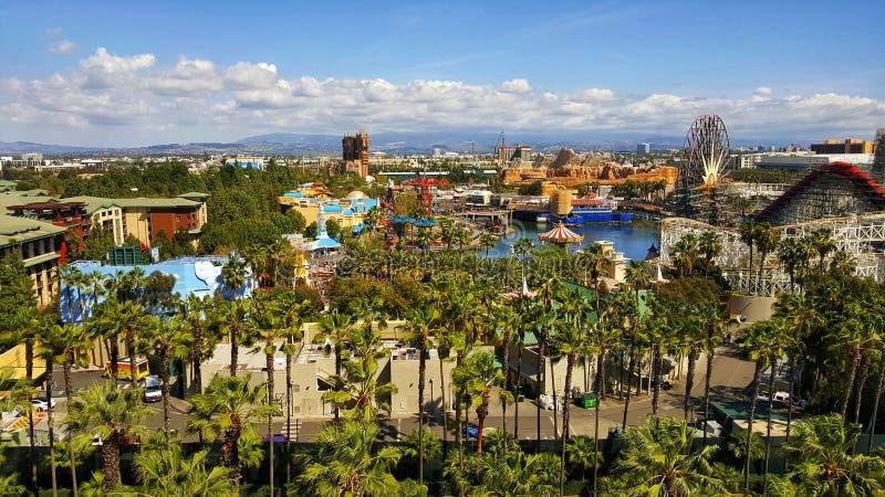 Parque de la aventura de Disney California fotografía de archivo libre de regalías