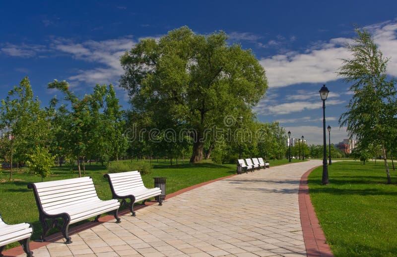 Parque de la ciudad fotos de archivo