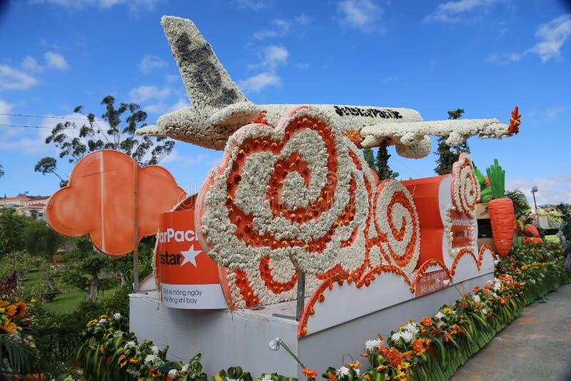 Parque de la flor de Dalat foto de archivo libre de regalías