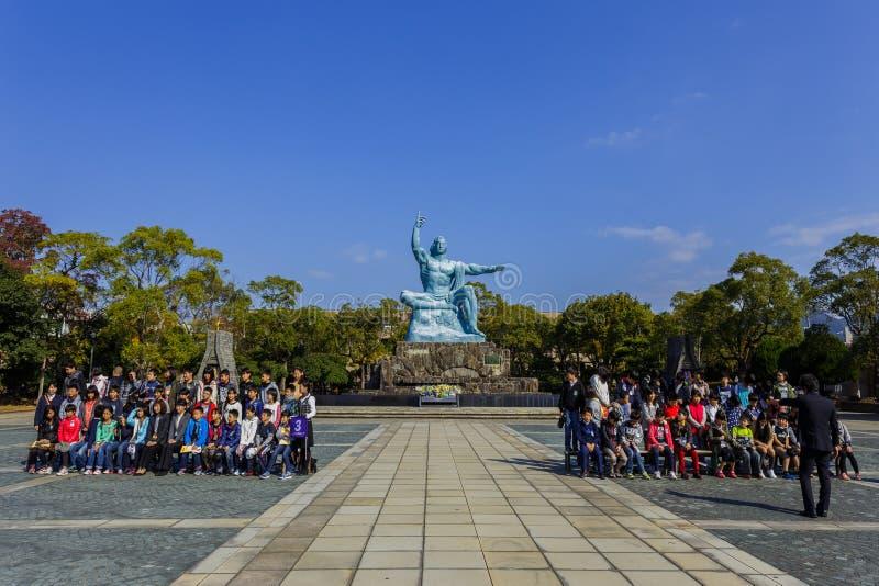 Parque de la paz de Nagasaki fotos de archivo