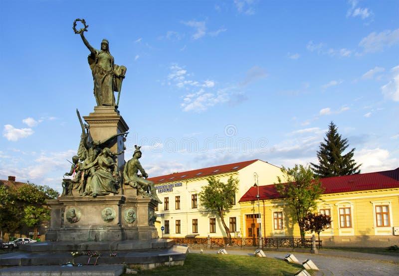Parque de la reconciliación de Arad, Rumania imagenes de archivo