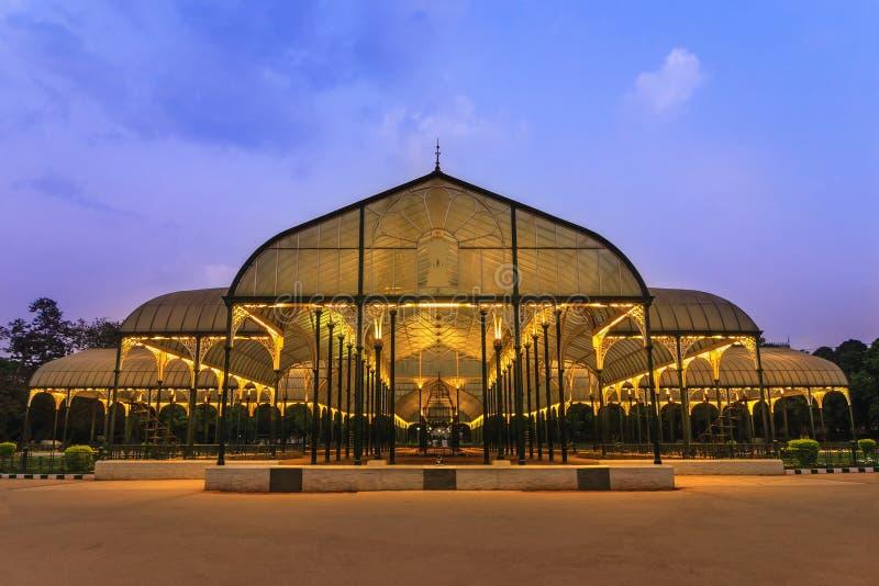 Parque de Lalbagh en la ciudad de Bangalore imágenes de archivo libres de regalías