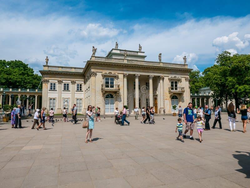 Parque de Lazienki, Varsovia, Polonia foto de archivo libre de regalías