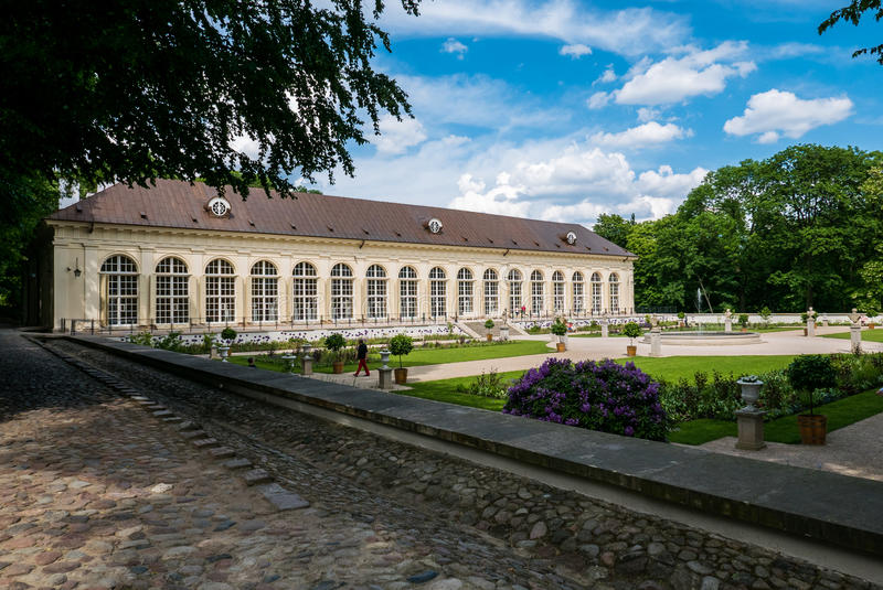 Parque de Lazienki, Varsovia, Polonia imagen de archivo