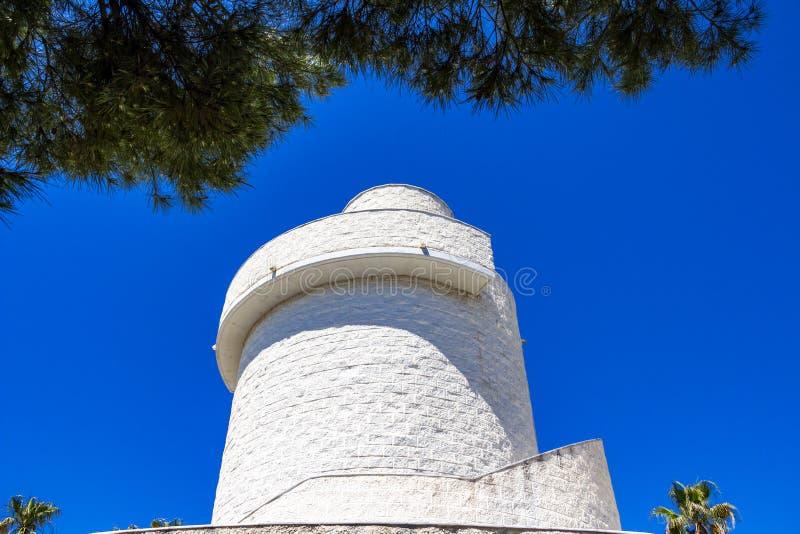 Parque De Los angeles Bateria, Torremolinos, Andalusia, Hiszpania obrazy royalty free