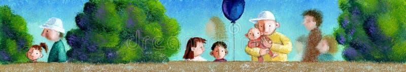 Parque de los niños libre illustration