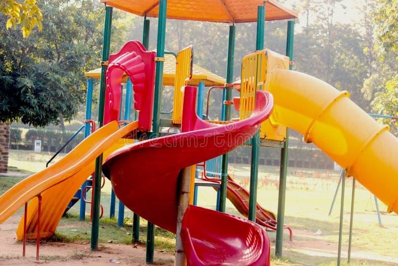 Parque de los niños imagen de archivo libre de regalías