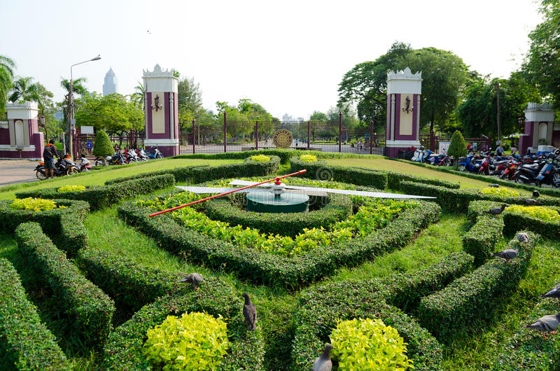 Parque de Lumpini, Bangkok fotos de archivo libres de regalías