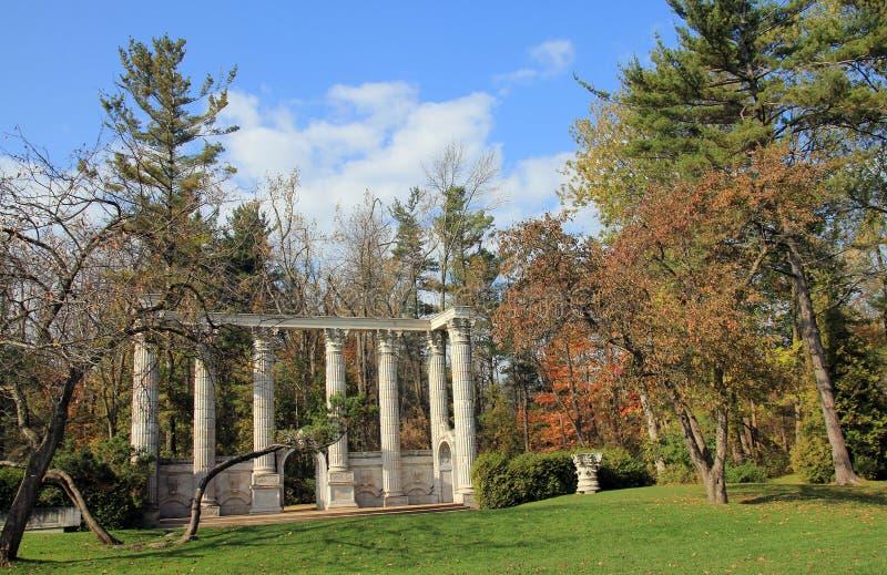 Parque de madera del gremio imagen de archivo libre de regalías