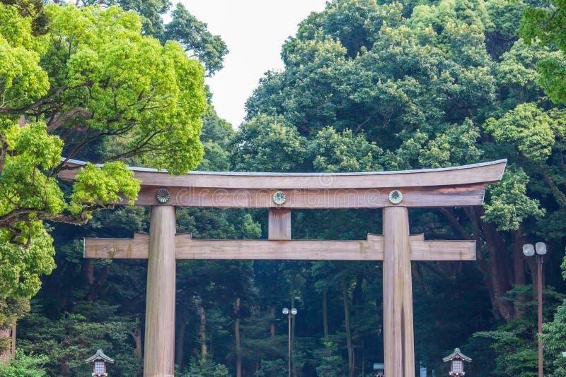 Parque de Meiji Shrine en Tokio imágenes de archivo libres de regalías