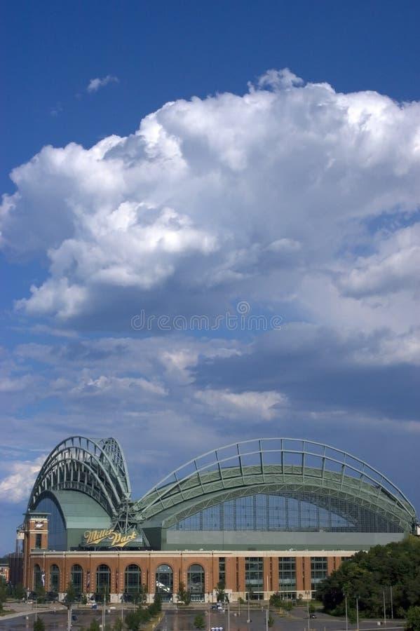 Parque de Miller, azotea abierta, WI de Milwaukee imagen de archivo libre de regalías