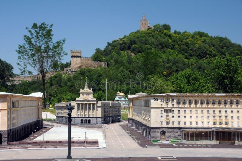 Parque de Mini-Bulgaria en Veliko Tarnovo fotografía de archivo