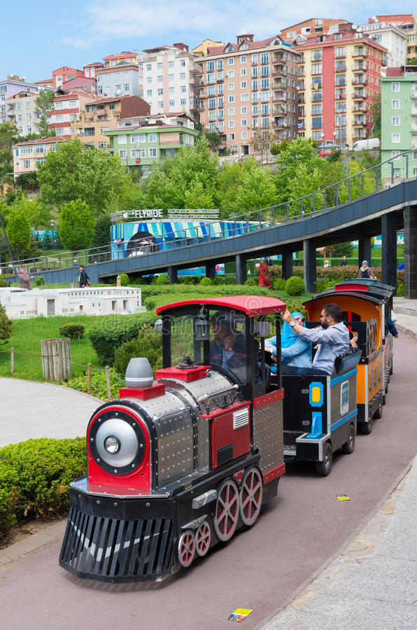 Parque de Miniaturk em Istambul fotos de stock