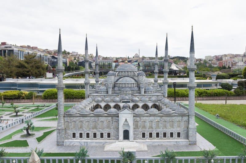 Parque de Miniaturk em Istambul imagem de stock