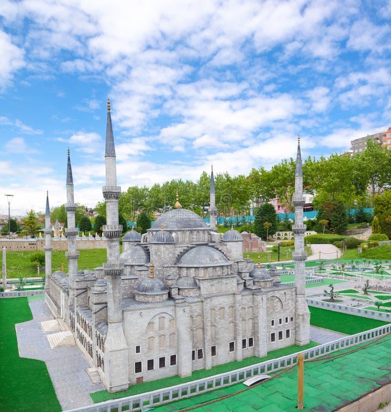 Parque de Miniaturk em Istambul imagens de stock