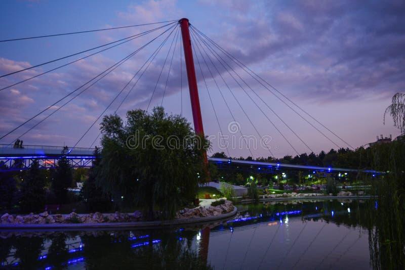 Parque de Moghioros fotografia de stock