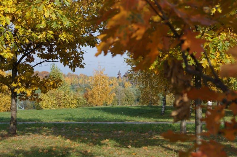 Parque de Moscou fotografia de stock