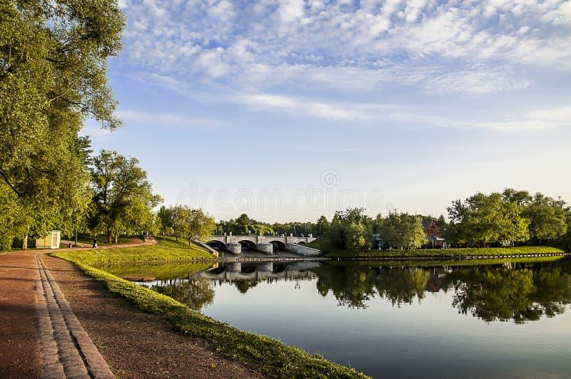 Parque de Moscow fotos de stock royalty free