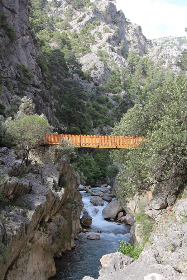 Parque de naturaleza del barranco de Yazılı imagen de archivo libre de regalías