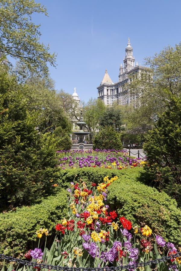 Parque de New York City Salão imagens de stock royalty free