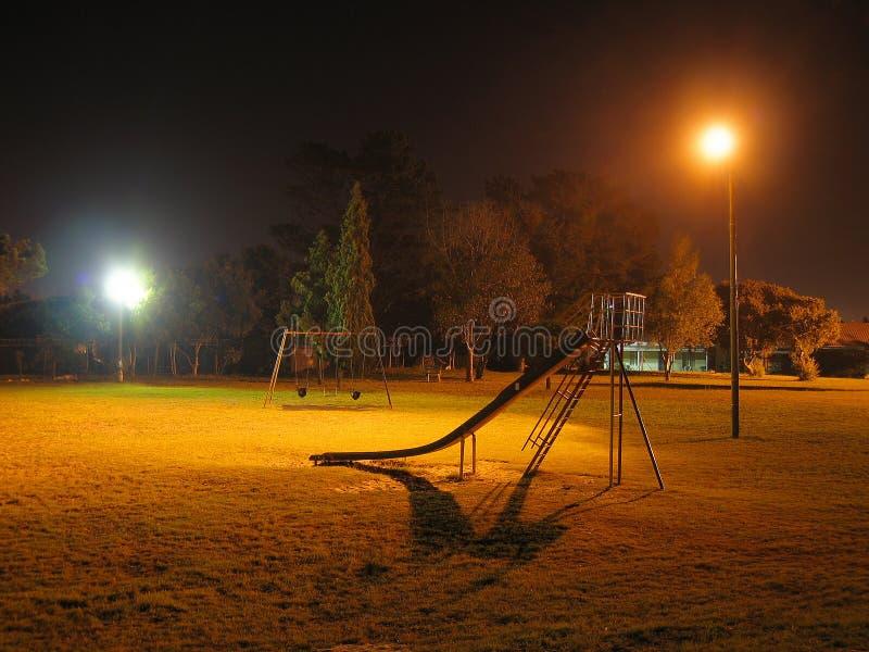 Download Parque de Nigth imagem de stock. Imagem de cópia, alaranjado - 525103