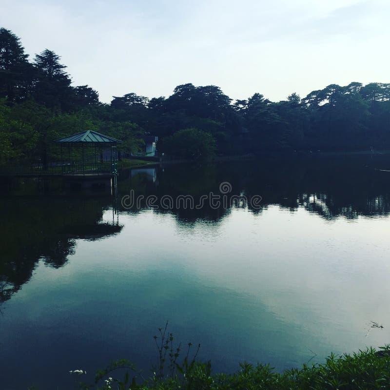 Parque de Omiya, Japón imagen de archivo libre de regalías