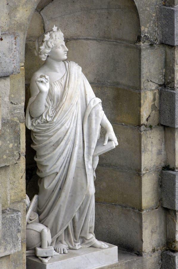Parque de palacio de Fontainebleau imagen de archivo libre de regalías