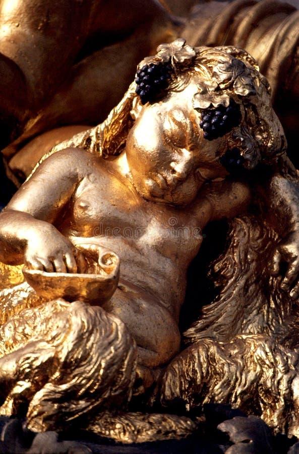Parque de palacio de Versalles imágenes de archivo libres de regalías